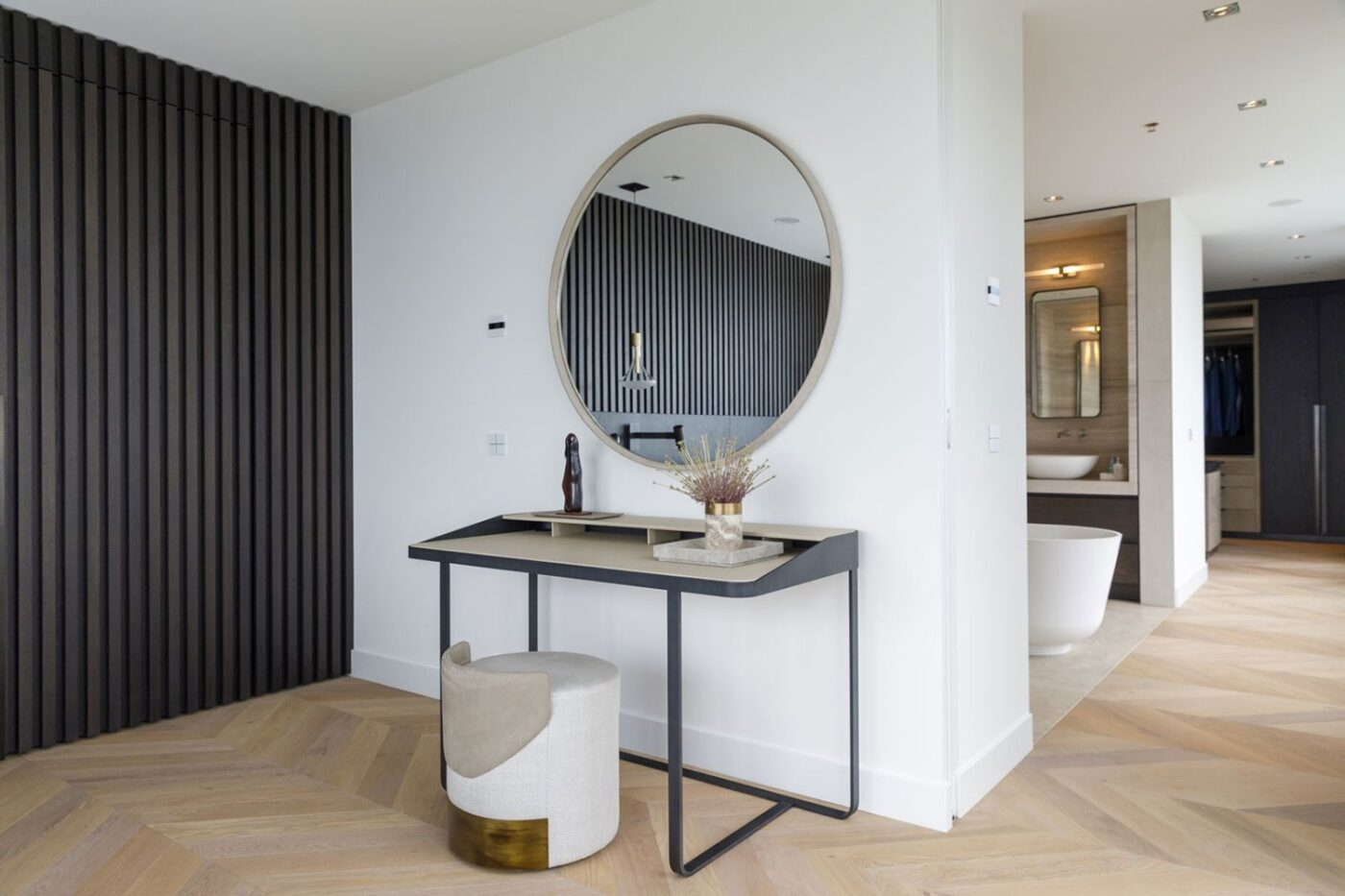 Hongaarse punt in de badkamer in Rotterdam