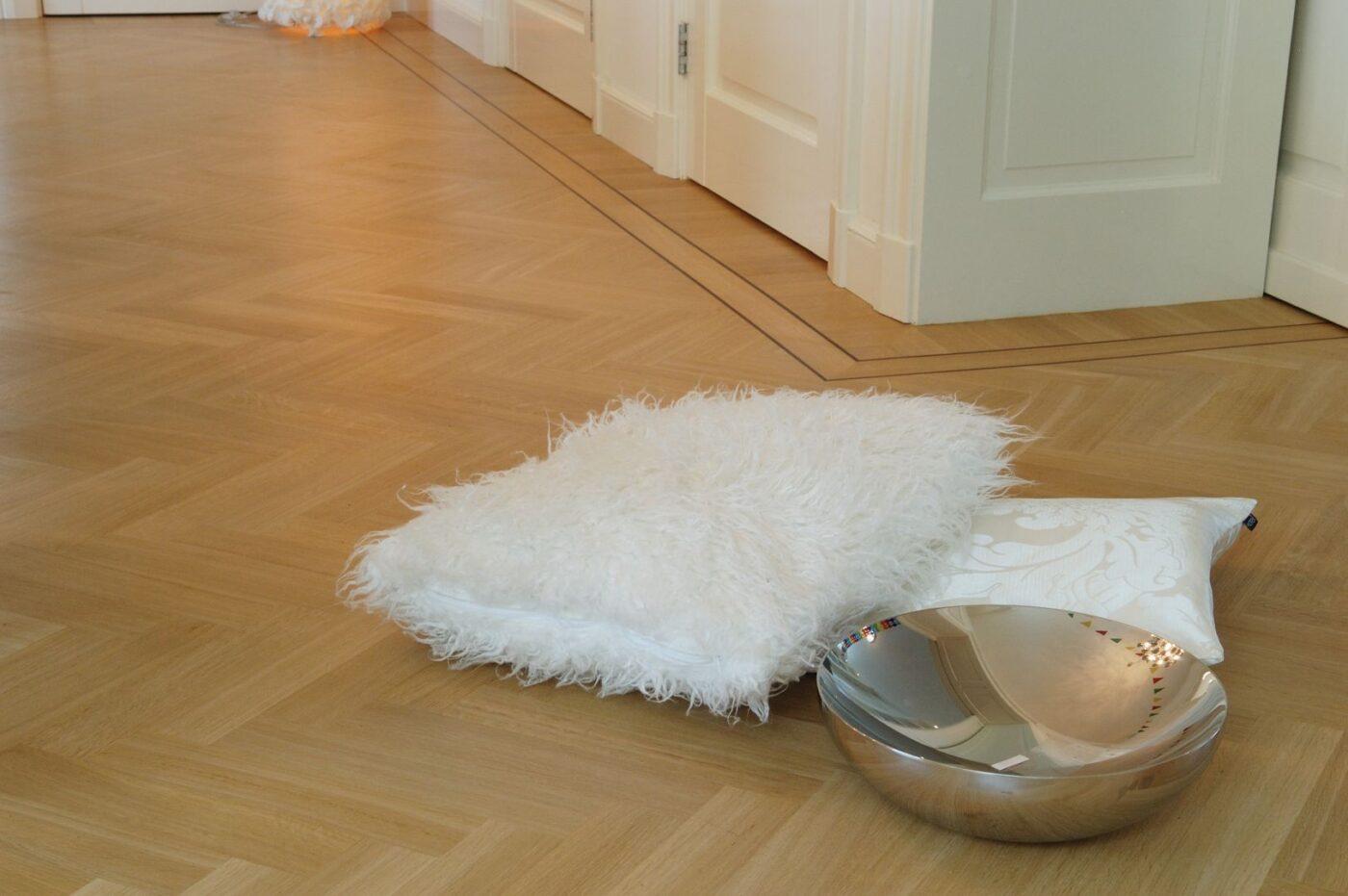 Luxe en lichte visgraat vloer